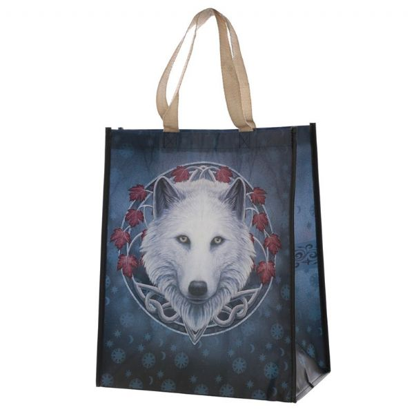 LISA PARKER Guardian of the Fall Magical Wolf Shopping Bag